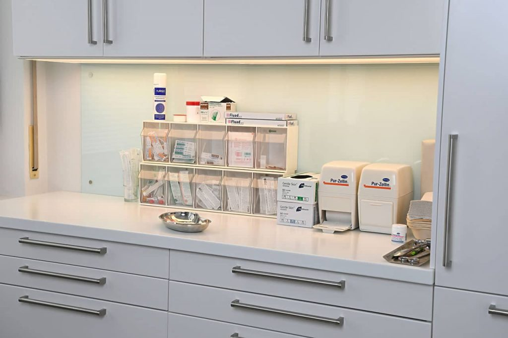 Ausstattung medizinische Versorgung