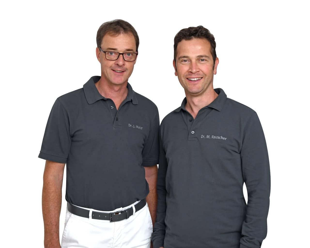 Dr. Maier und Dr. Rauscher