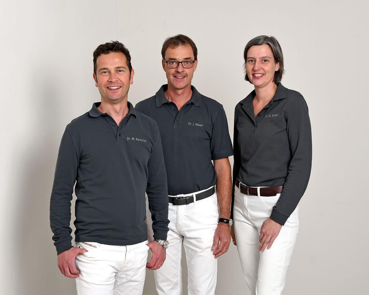 Das Ärzte-Team der Praxis Maier-Rauscher in Nürtingen